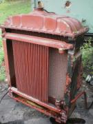 A radiator for cooling the engine D-65 A,the conversion