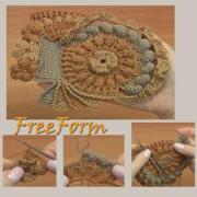 Courses to crochet from a YouTube channel/ElenaRugalStudio