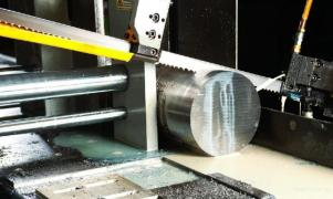 Cutting metal with a saw