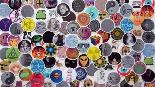 Flick Stickers: Stereo Vario 3D Sticker, Sticker, Label