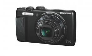 Fotoaparat Olympus SH-21 touch screen display