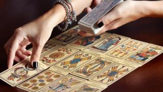 Гадание на картах, по линие руки, предсказание будущего, прошлого