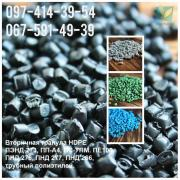 Polymers secondary PE100, PE80, HDPE-blow moulding, casting, PP, PS, HIPS
