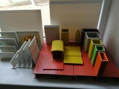 Профили стеклопластиковые конструкционные пултрузионные строител