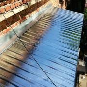 Ремонт козырька и крыши балкона