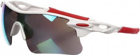 Sports glasses Robesbon White Red (S1-220001_белый red) - P