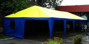 Tents, prefabricated steel structures fabrication