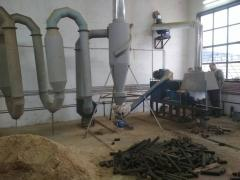 Turnkey business: Line for production of fuel briquettes